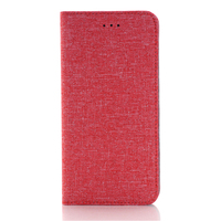 IMPRUE Jean pattern wallet flip leather case with credit card holder protective phone case for iphone6 plus/ for iphone 6S Plus