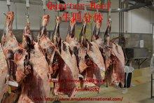 Australian Frozen Beef Halal Quarter Beef Carcass S grade