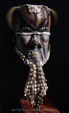 Kuba/Bushoong; ceremonial helmet mask