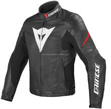 Black and orange florocent / Silver Laguna-Evo-Leder jacket Cowhide Leather motorcycle/Motorbike Jacket