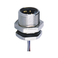 4 pin male female 240v ac power ip67 waterproof connector with compettve price from China supplier