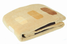 Cotton soft piled blanket (2 sizes)