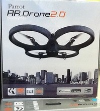 Parrot AR Drone Quadricopter 2.0 iDevice Smartphone Control Power Edition