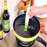 Practical Home Cooking Tools Silicone Liquid Oil Pen Brush DIY Cake Butter Bread Pastry Baking Brush New