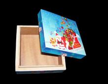 CHRISTMAS DIGITAL PRINT WOODEN BOX