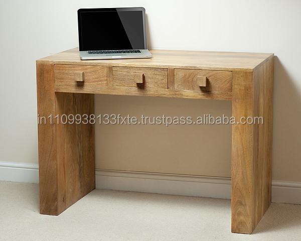 Mango wood office desk antique wooden furniture buy