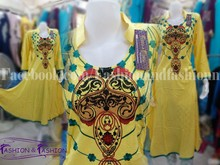 Neck Embroided Frock Style
