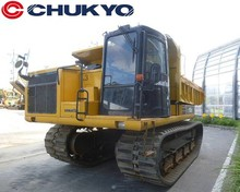 Used Komatsu Crawler Carrier CD110R Load 11ton Capacity <SOLD OUT>