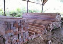 hardwood sawn timber (ulin,meranti)