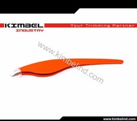 Slanted Tweezer, Extra Wide Grip, Easy To Use for Normal & Course Hair or Splinter