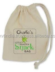 personalised customised draw string bag