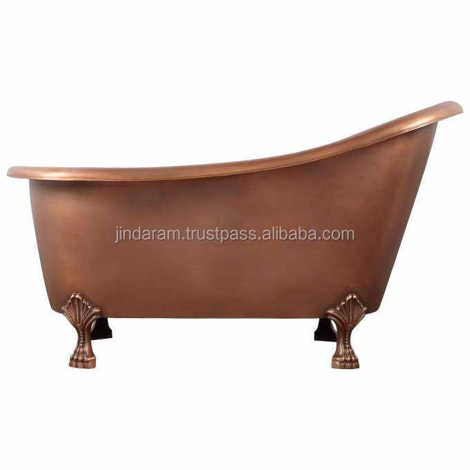 Solid Hammered Copper Bath Tub.jpg