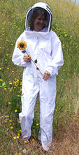 high quality white overall beekeeping protective Factory fashion style excellent quality protection bee suit, beekeeper suit