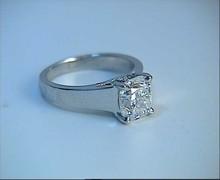 2.07ct G-SI1 Cushion Diamond Engagement Ring Platinum G-VS1 900,000 GIA certified diamonds