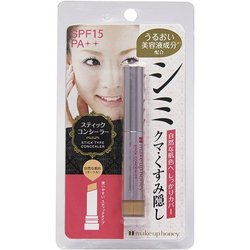 Make up Honey Concealer Cover Stains and Acnes natural Color Moisturizing Cosmetic