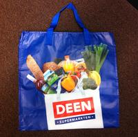 Cheap factory price Rpet non woven shopping bag with lamination