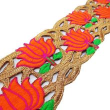 Decorative Trim 7.6 Cm Wide Cut-Work Sari Border Craft Supply RT955