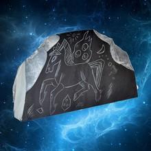 SHUNGITE Chintamani stone Buddhist legend FOR HEALTH PROMOTION Desktop items #SH4