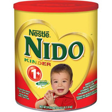 Nido Kinder 1+ Powdered Milk 3.52 Lb (Pack of 2)