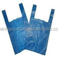 High quality cheap custom printed hdpe t shirt plastic bags/t shirt bag for shopping branch