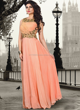 Latest design ladies long formal evening gown\online store buy shopping wedding dress bridal gown\gown in surat