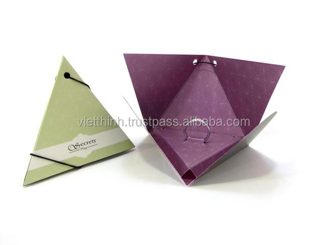 Коробочка для колец из бумаги своими руками