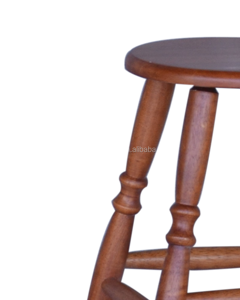 Hgf High Bar Stool Buy Rubber Solid Wood High Bar Stool