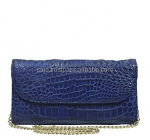 Crocodile leather wallet for women SWCRW-036