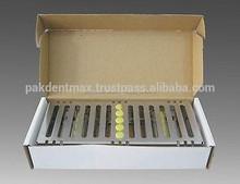 Dental esterilización de cassette de rack bandeja de caja por 5 piezas/de alta calidad de instrumentos dentales procedentes