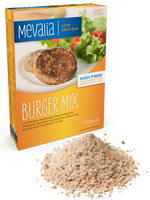 Mevalia Burger Mix Prepared Aproteico substitute for Meat 350g