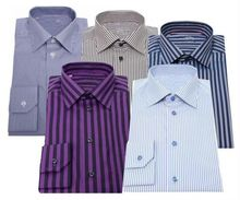 2015 latest formal wing collar,prue cotton white,stripe-textured tuxedo shirts for men