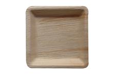 piastre di bambù come 16 x 16 cm piatti foglia di palma