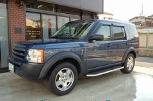 Durable land rover discovery used car with good fuel economy made in Japan