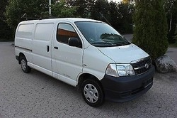 Used Toyota Hiace (long) Delivery Van - Left Hand Drive - Stock no: 12916