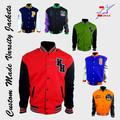 New Mens Varsity Letterman colégio jaqueta tamanho s,ML Xl / jaqueta de beisebol