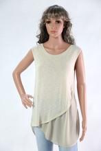 Women's sleeveless top, winter style, italyfashion