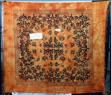 Coral Reef Printed marine fish Mandala Bedspread Indian Tapestry