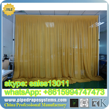 RK hight quality telescopic pipe and drape curtains with CE/ROHS/FCC/TUV certificate