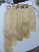 best service 100% Hair blonde 613 Bulk Extension Remy human hair no synthetic