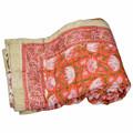 Feitas à mão indiano Designer colchas / confortável colcha de retalhos