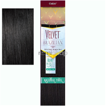 "Velvet Brazilian Remi Yaki 14"" - Color 1 - Remi Weaving"