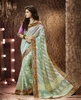 PRINTED JOLLY SILK SAREE WITH EXCLUSIVE BROCADE EMBROIDERY LACE BORDER