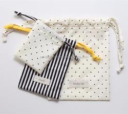 TCP015 small cotton drawstring bags
