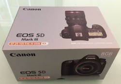 For New Canon EOS 5D Mark III 22.3 MP Full Frame CMOS Digital SLR Camera with EF 24-105mm f 4 L IS USM Lens