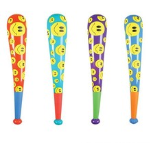 "42"" SMILELY FACE BASEBALL BAT INFLATE"