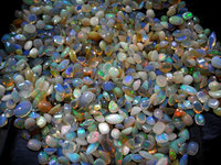 AA Quality Natural Ethiopian Opal Multi Shape Normal Cut With Play Of Fire Loose Gemstone