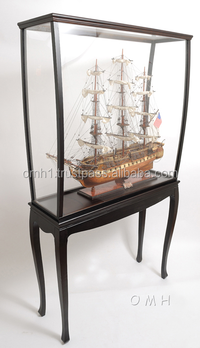 HMS TrinComalee Copper bottom (L80) wooden tall ship model