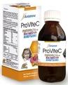 Provitec vitamina c jarabe de 100 ml miel, extracto de propóleo, extracto de equinácea suplemento nutricional de alimentos