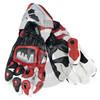 Leder Rot leather gloves Handschuh New Style Leather Motor Bike Racing Gloves