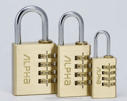 Alpha 4 digit combination lock 2820 serieas. Japanese pordocuts